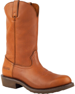 Durango Men's SPR Western Work Boots, Tan, hi-res