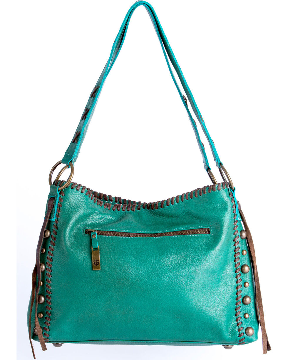 STS Ranchwear Jade Maggie Mae Handbag , Light Green, hi-res