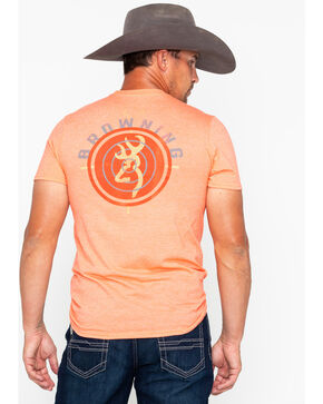 Browning Men's Browning Target Print T-Shirt , Orange, hi-res