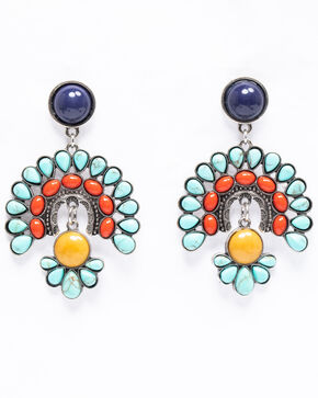 Shyanne Women's Isla Jane Multi-Colored Firework Earrings, Multi, hi-res
