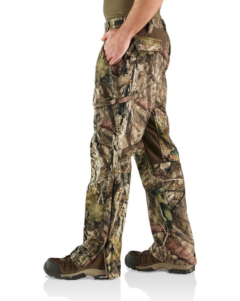 Carhartt Men's Camo Buckfield Straight Leg Work Pants, Camouflage, hi-res