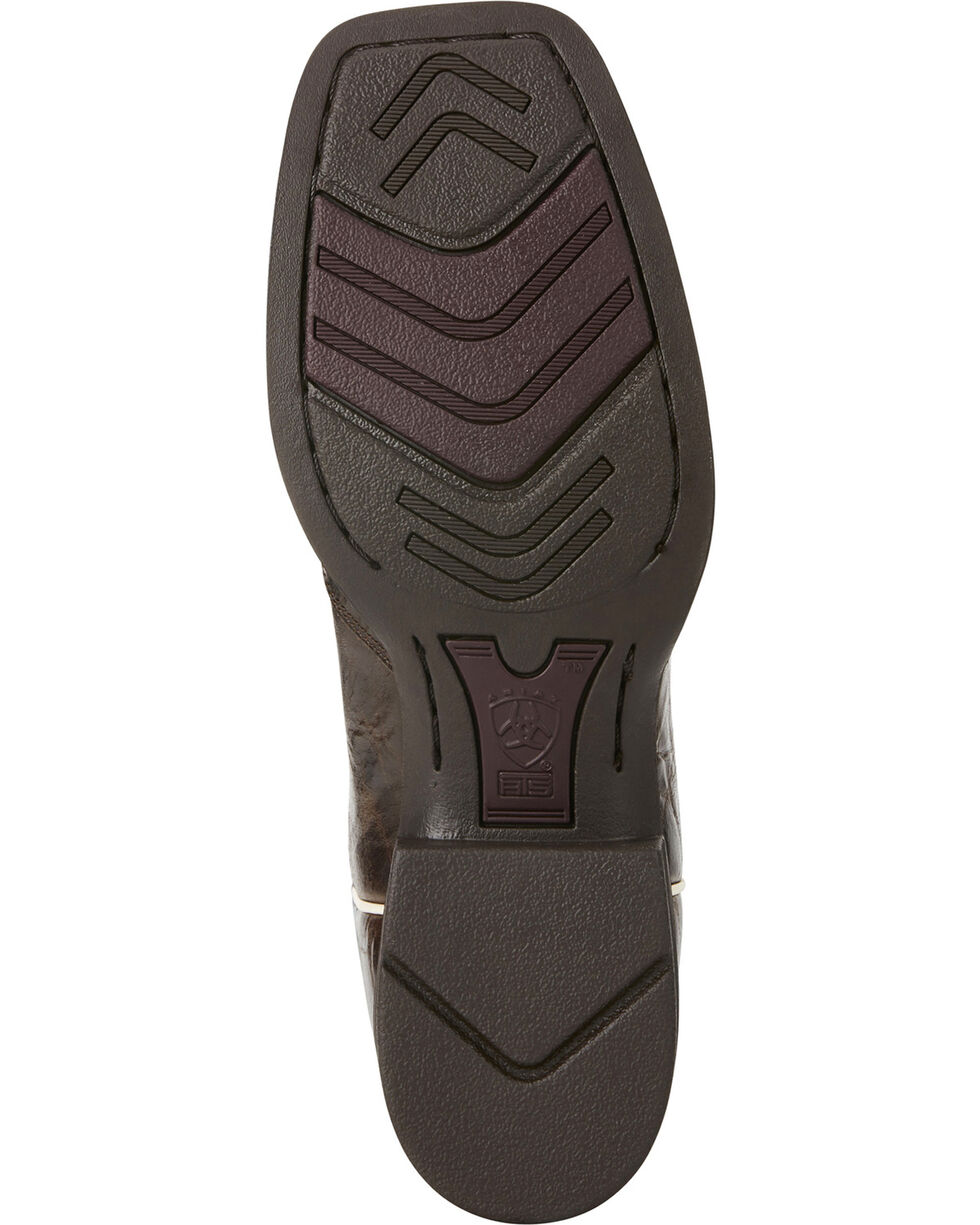 Ariat Women's Sidekick Western Boots, Chocolate, hi-res