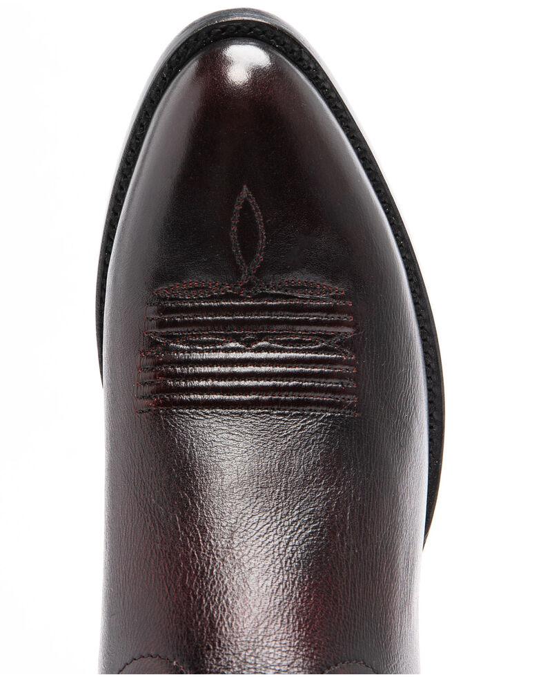 Cody James Men's Deputy Western Boots - Round Toe, Black Cherry, hi-res