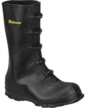 LaCrosse Men's Z-Series Overshoe Rubber Boots, Black, hi-res