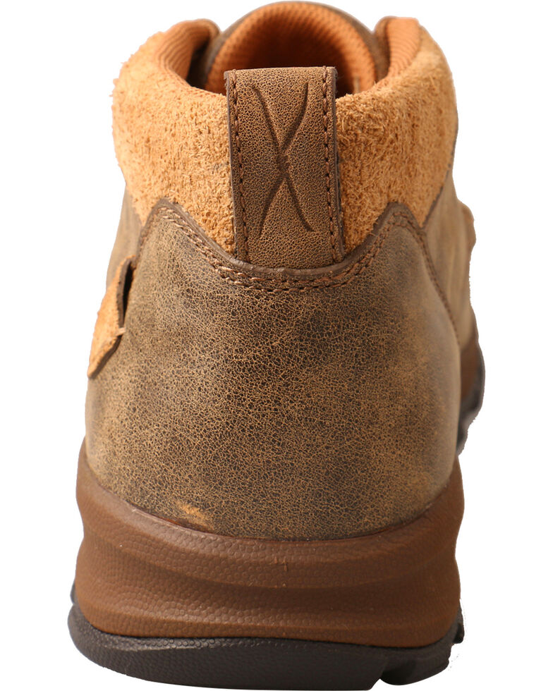 Twisted X Men's Woven Hiker Shoes - Moc Toe, Brown, hi-res