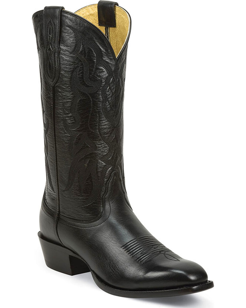 Nocona Men's Vargas Gentleman's Collection Western Boots, Black, hi-res