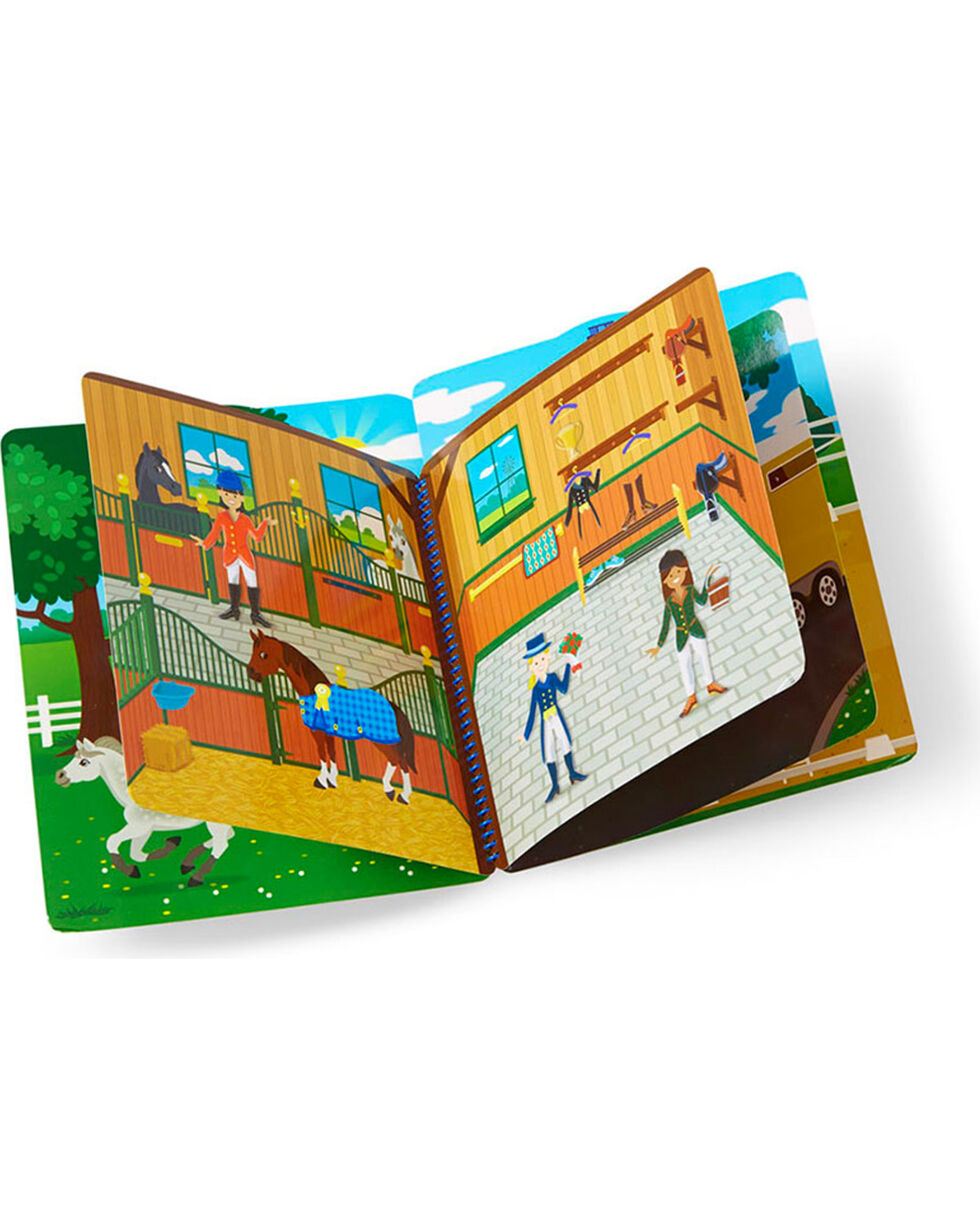 Melissa & Doug Kids' Riding Club Puffy Sticker Activity Book , No Color, hi-res