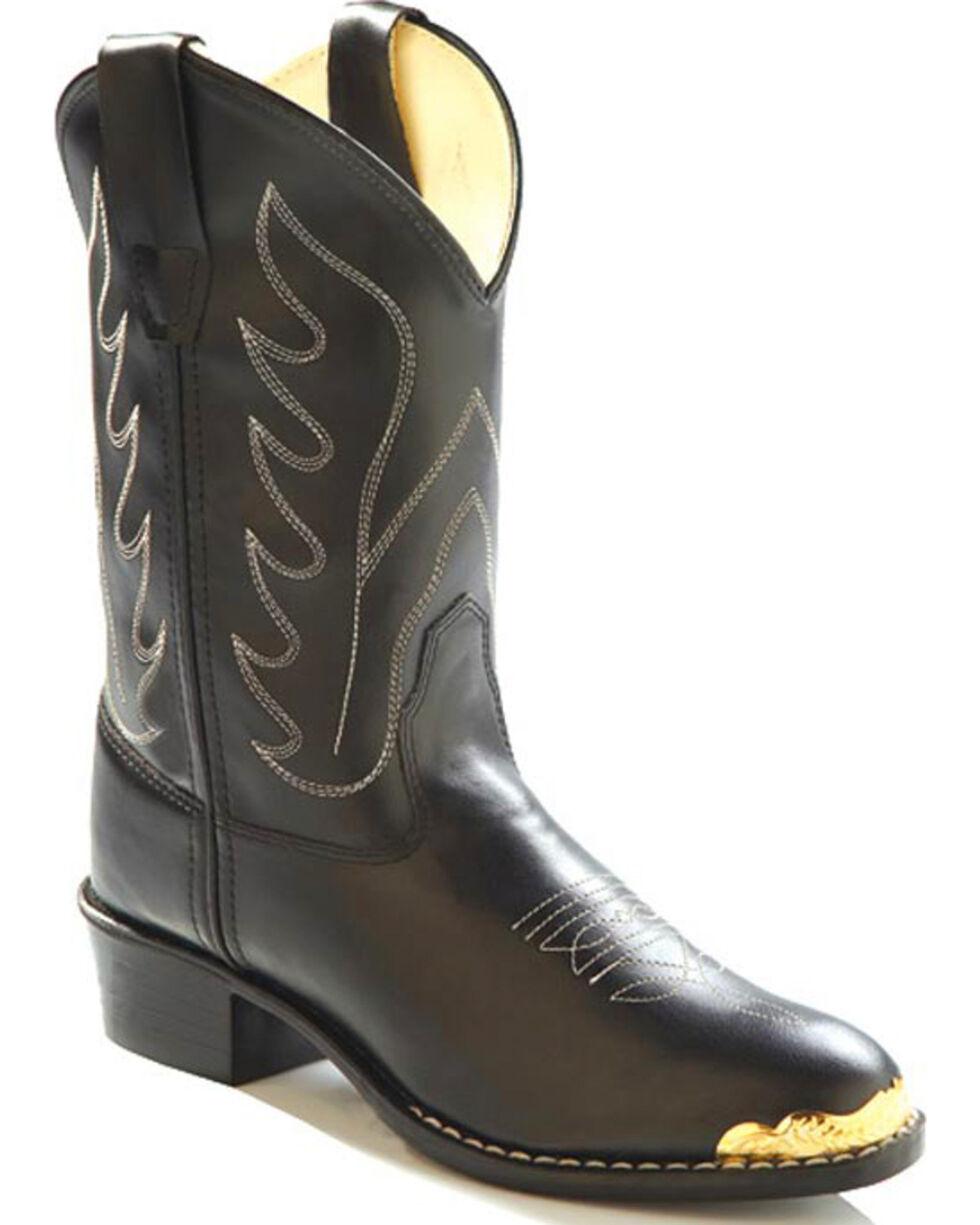 Jama Children's Cushion Comfort Western Boots, No Color, hi-res