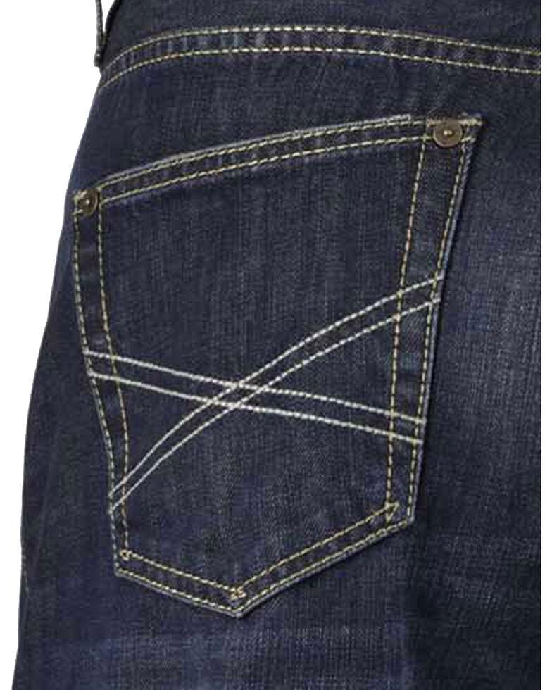 Stetson Men's Premium Modern Fit Boot Cut Jeans, Denim, hi-res