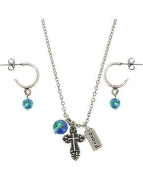 Shyanne® Women's Faith Family & Friends Jewelry, Silver, hi-res