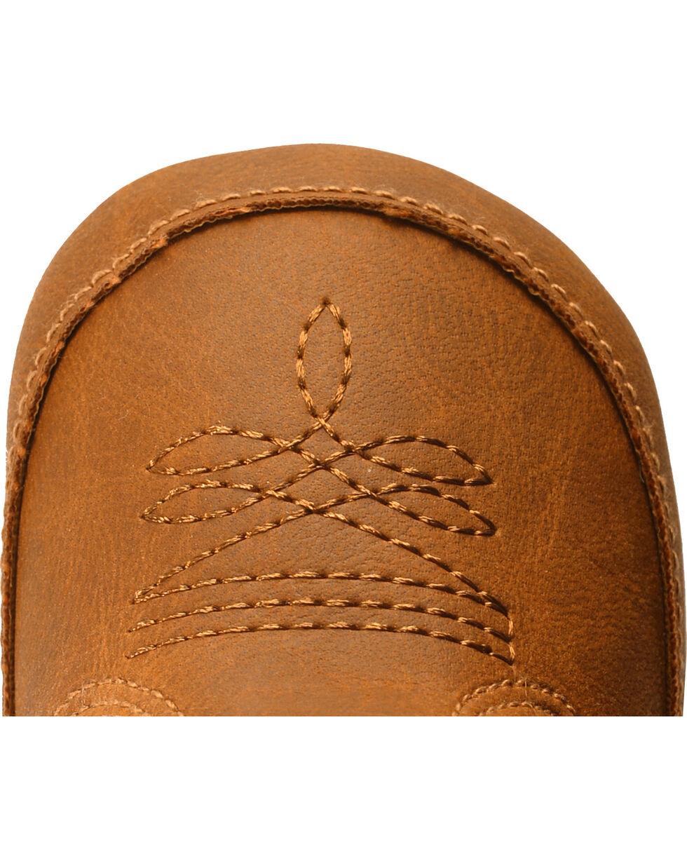 Double Barrel Infant Boys' Gunner Mossy Oak Cowboy Booties - Round Toe, Brown, hi-res