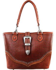15560031aa Montana West Trinity Ranch Buckle Design Concealed Handgun Collection  Handbag
