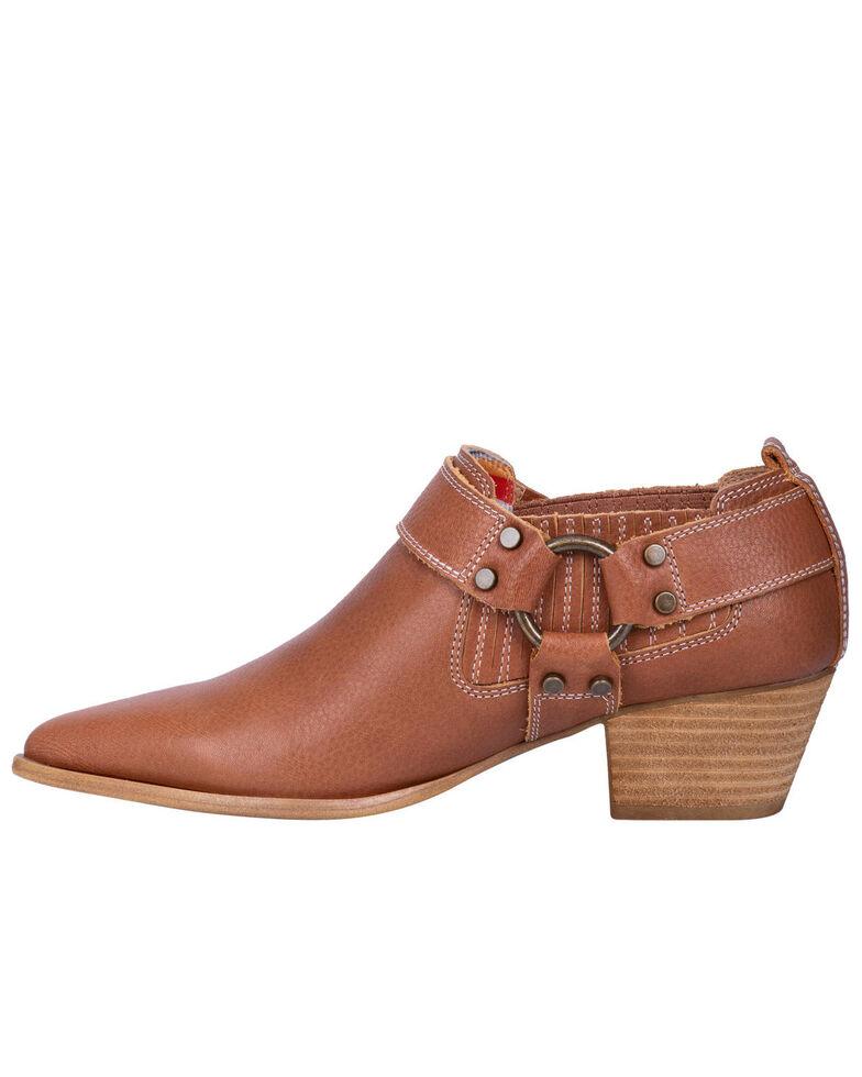Digno Women's Kickback Fashion Booties - Snip Toe, Cognac, hi-res