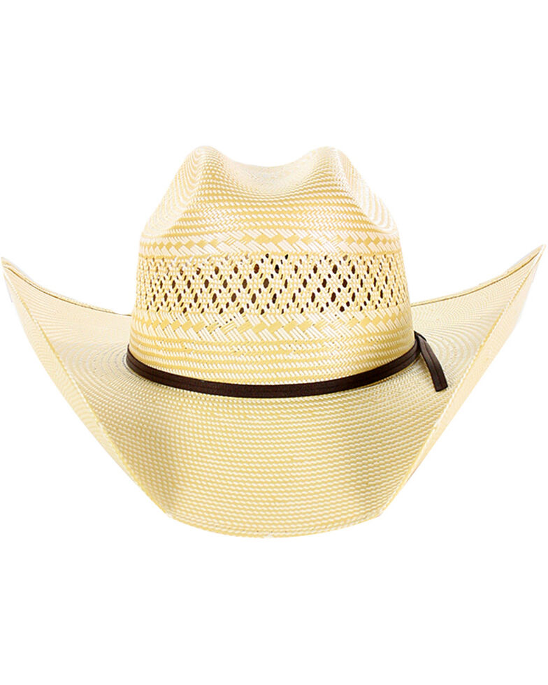 Cody James® Men's 50X Straw Hat, Natural, hi-res