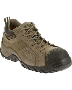 Caterpillar Women's Argon Work Shoe - Comp Toe, Grey, hi-res