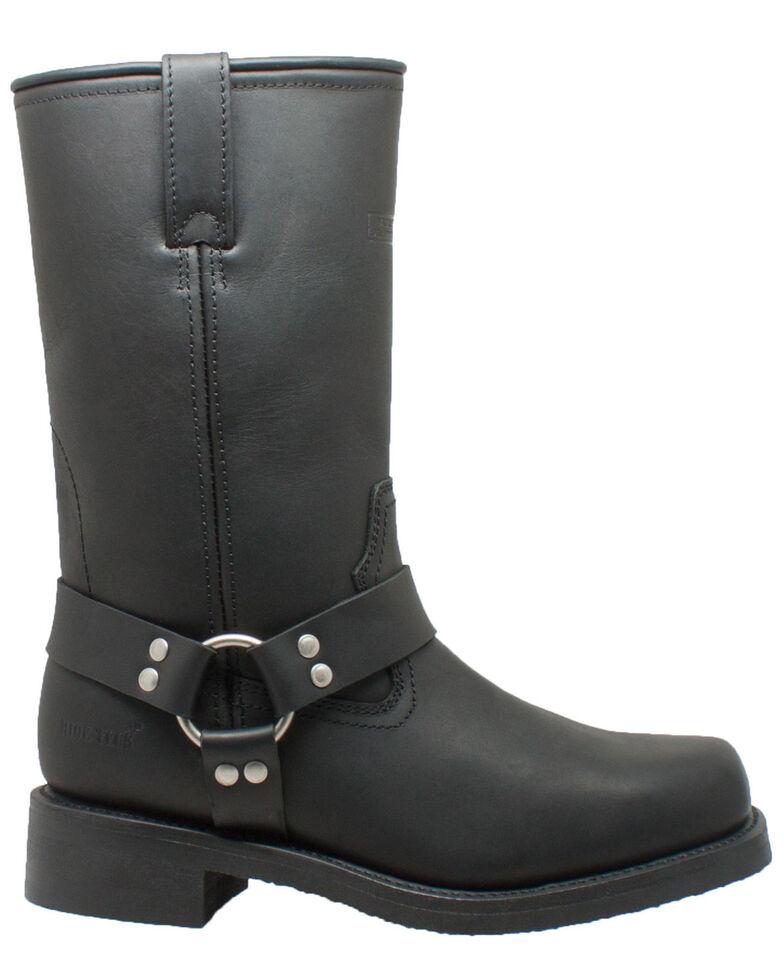 "Ad Tec Men's 13"" Harness Waterproof Motorcycle Boots, Black, hi-res"