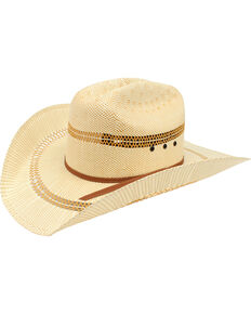 77a18c69e338e Ariat Men s Bangora Straw Cowboy Hat