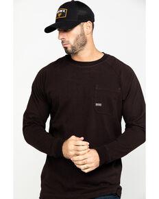 Ariat Men's Purple Rebar Cotton Strong Long Sleeve Work Shirt , Purple, hi-res