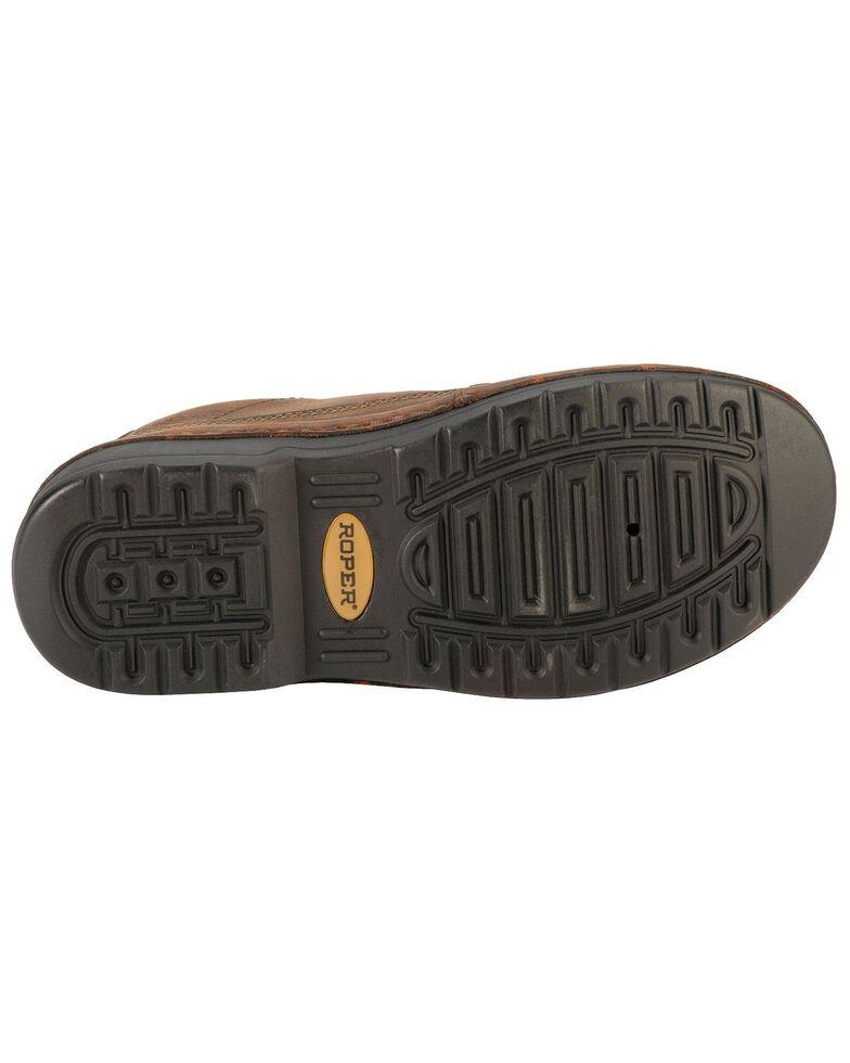 Roper Men's Casual Slip-On Shoes, Brown, hi-res
