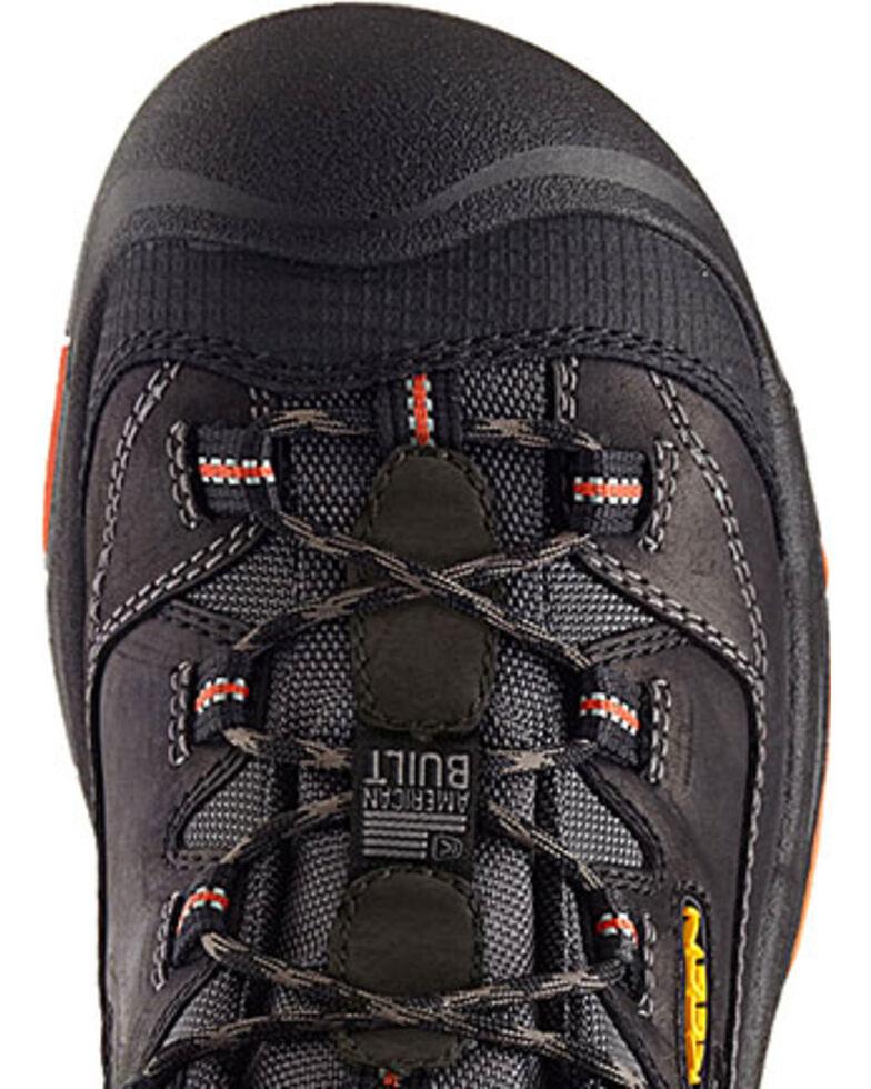 Keen Men's Braddock Low EH Shoes, Black, hi-res