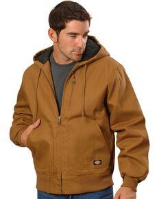 Dickies Rigid Duck Hooded Jacket - Big & Tall, Brown Duck, hi-res