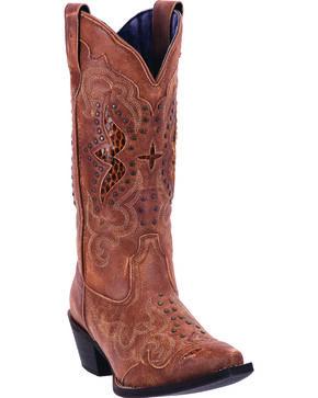 Laredo Women's Valencia Fashion Boots, Tan, hi-res