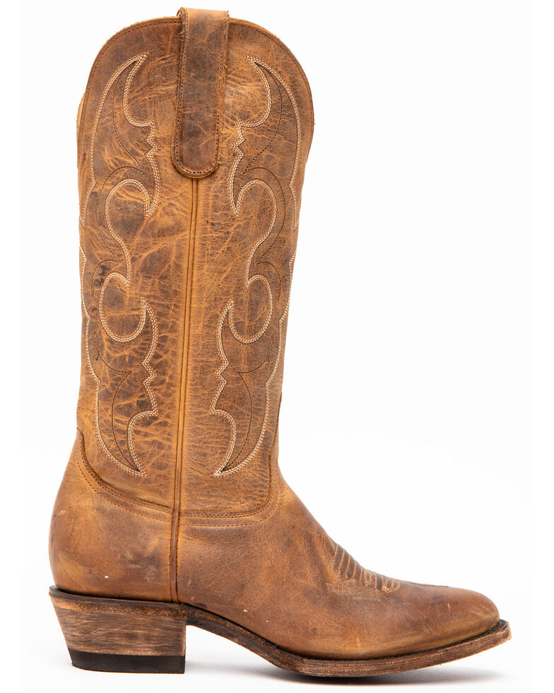 Idyllwind Women's Spit Fire Western Performance Boots - Round Toe, Tan, hi-res