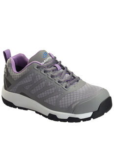Nautilus Women's Grey Velocity Work Shoes - Composite Toe, Grey, hi-res