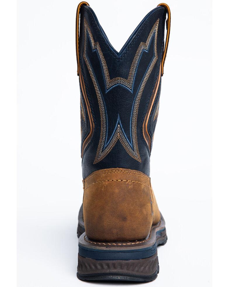Cody James Men's Disruptor Western Work Boots - Soft Toe, Brown, hi-res