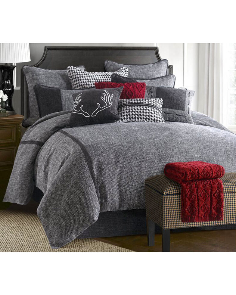 HiEnd Accents 4 Piece Hamilton Bedding Set - Super King , Multi, hi-res