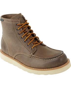 Eastland Men's Grey Lumber Up Boots , Grey, hi-res