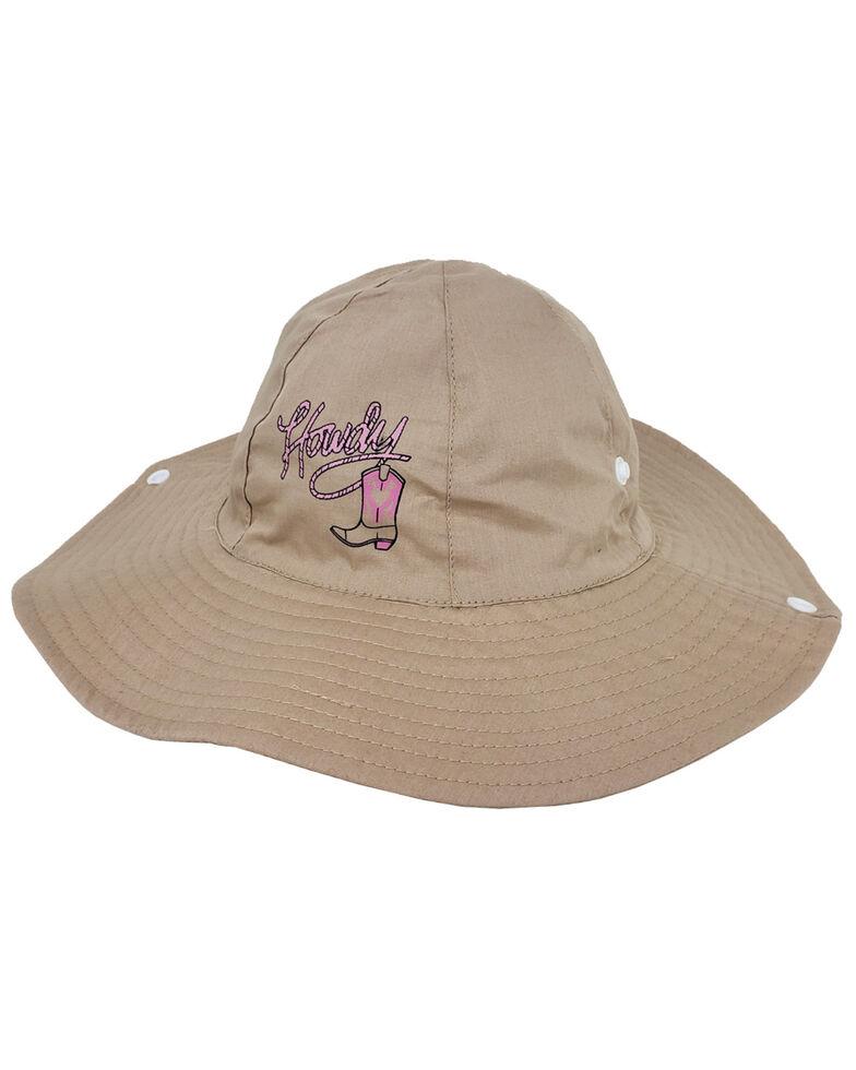 Peter Grimm Girls' Pink Howdy Bucket Hat, Beige/khaki, hi-res