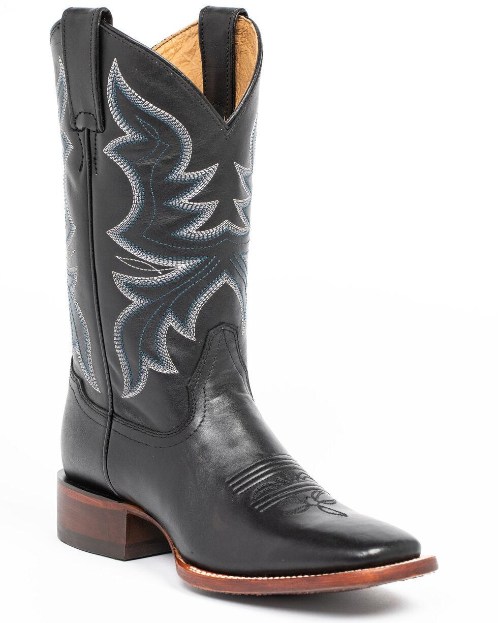 Shyanne Women's Black Western Boots - Square Toe, Black, hi-res