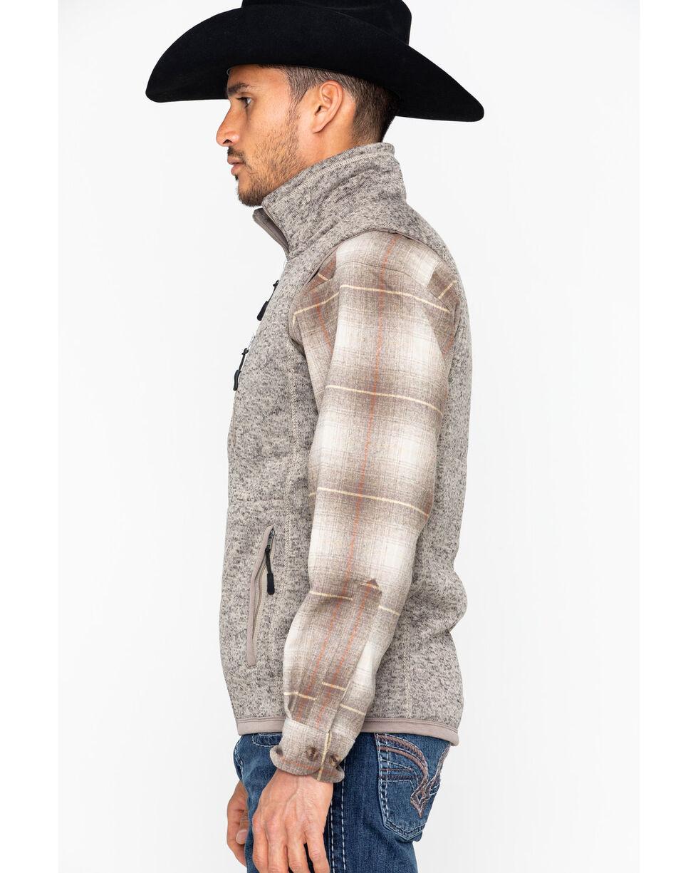 Powder River Outfitters Men's Zipper Vest, Olive, hi-res