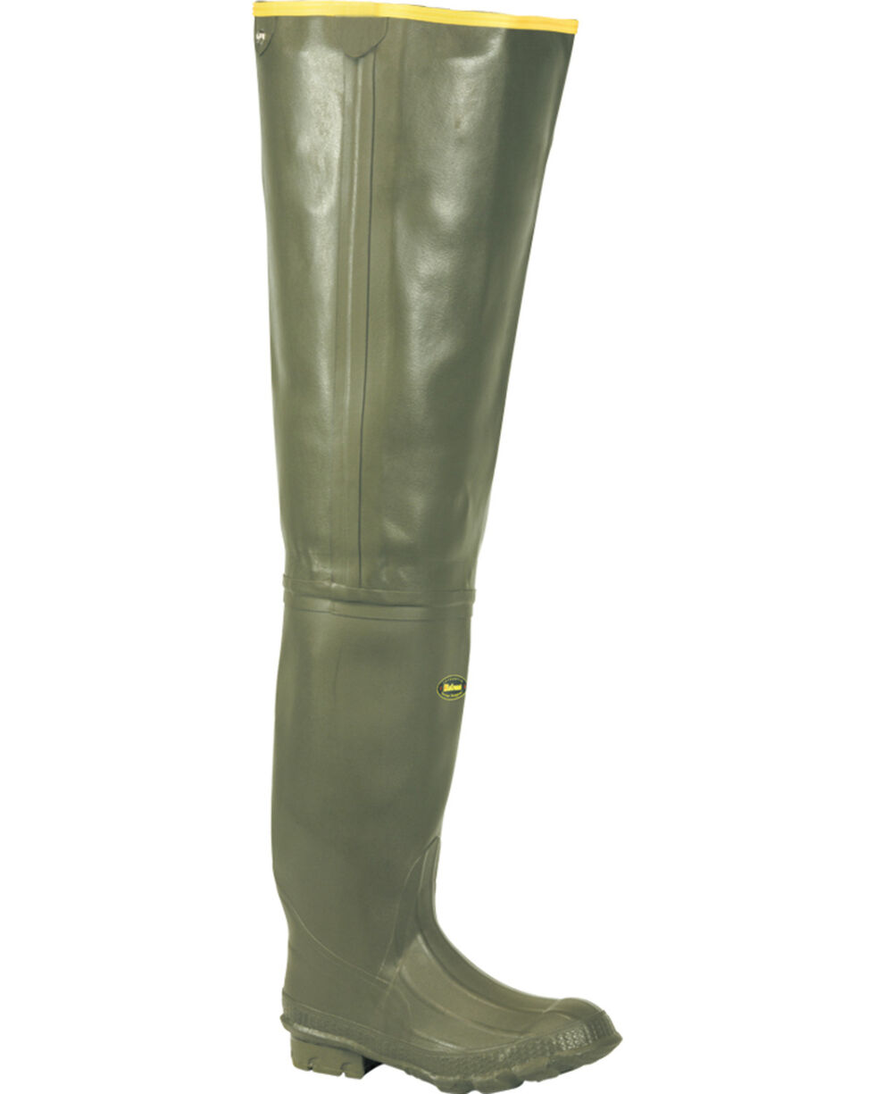 "LaCrosse Men's Marsh 32"" Wader Boots, Green, hi-res"