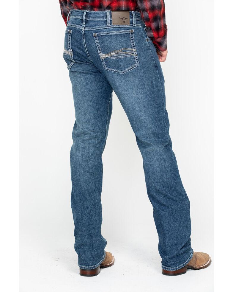 Wrangler 20X Men's Lindale No.44 Advanced Comfort Long Slim Straight Jeans , Blue, hi-res