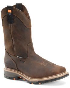 Carolina Men's Actuator Waterproof Western Work Boots - Composite Toe, Brown, hi-res