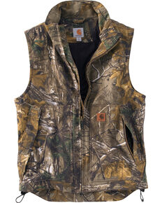 Carhartt Men's Quick Duck Camo Work Vest, Camouflage, hi-res