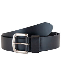Carhartt Men's Journeymen Leather Work Belt, Black, hi-res