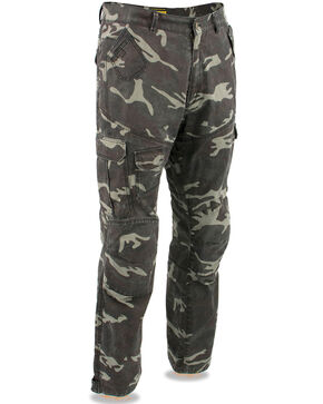 "Milwaukee Performance Men's 34"" Aramid Reinforced Camo Cargo Jeans - XBig, Camouflage, hi-res"