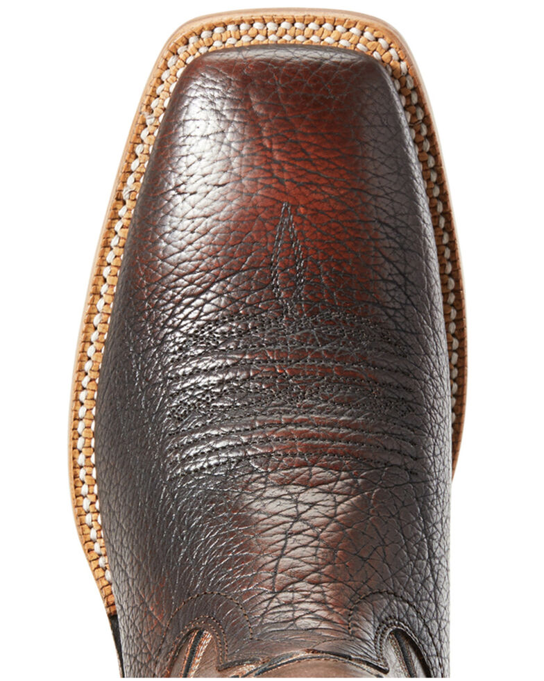 Ariat Men's Station Cherry Western Boots - Wide Square Toe, Brown, hi-res