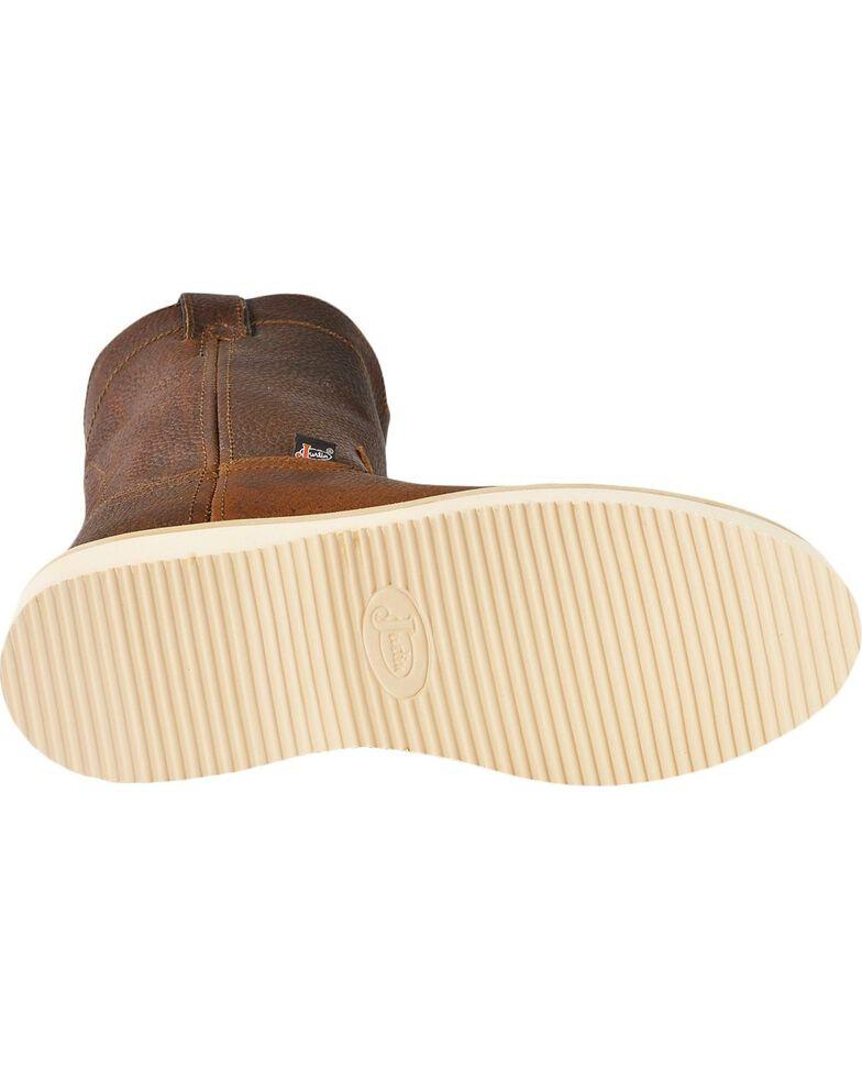 Justin Men's Premium Wedge Work Boots, Tan, hi-res
