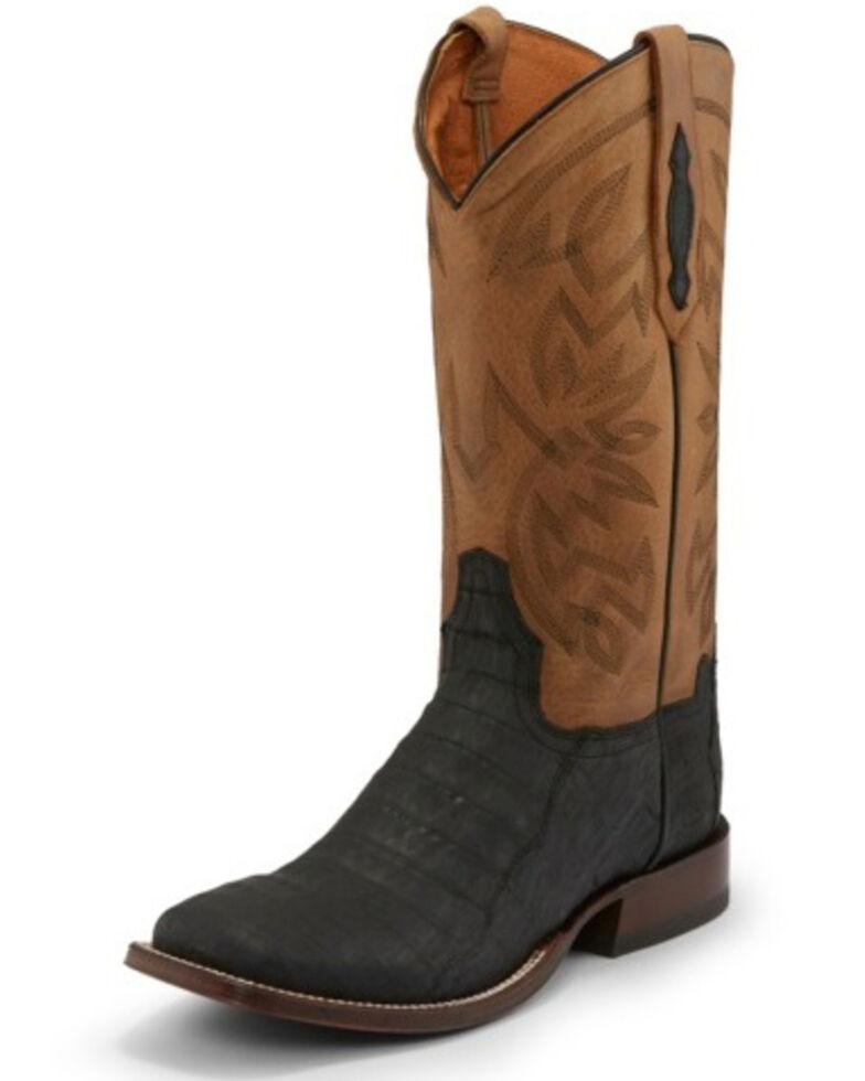 Tony Lama Men's Canyon Black Western Boots - Square Toe, Black, hi-res