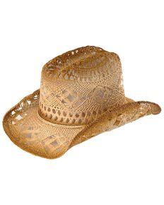 Bullhide Kids' Summer Toyo Straw Cowboy Hat, Beige, hi-res