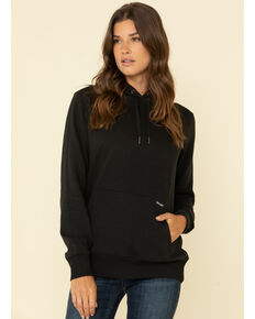 Wrangler Retro Women's Black Pullover Logo Sweatshirt , Black, hi-res