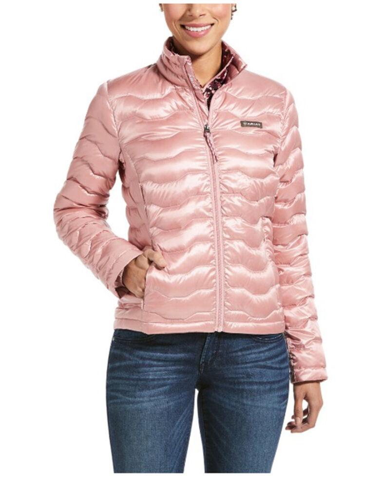 Ariat Women's Blush Ideal 3.0 Down Puffer Jacket , Blush, hi-res