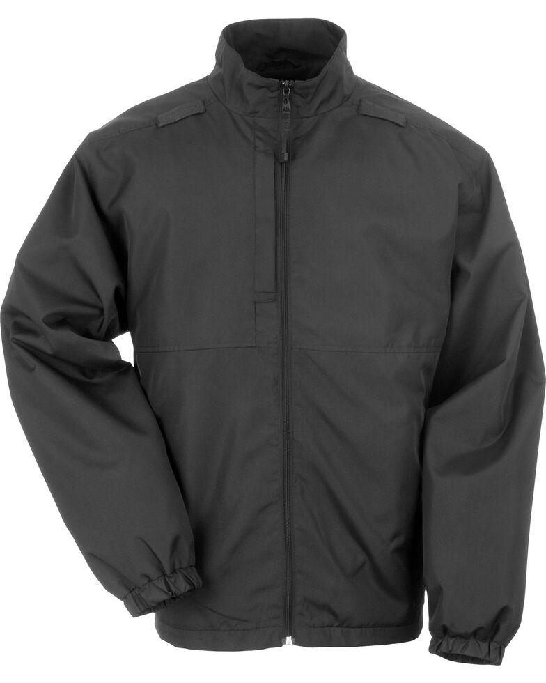 5.11 Tactical Lined Packable Jacket, Black, hi-res