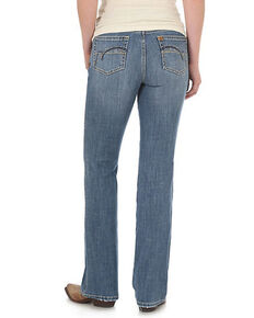 Wrangler Women's Madrid Aura Low Rise Boot Jeans, Indigo, hi-res