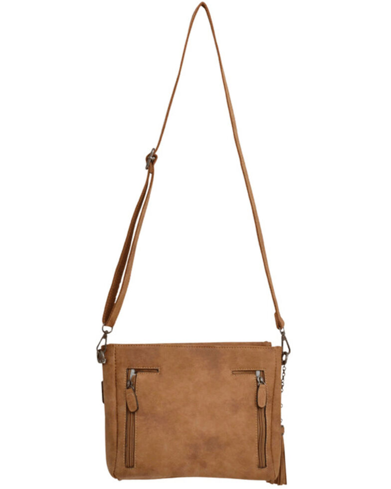 M&F Western Women's Angel Ranch Handbag, Multi, hi-res