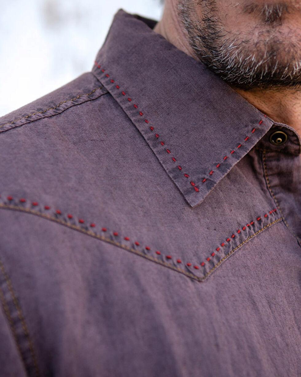 Ryan Michael Men's Wine Pick Stitch Shirt , Wine, hi-res